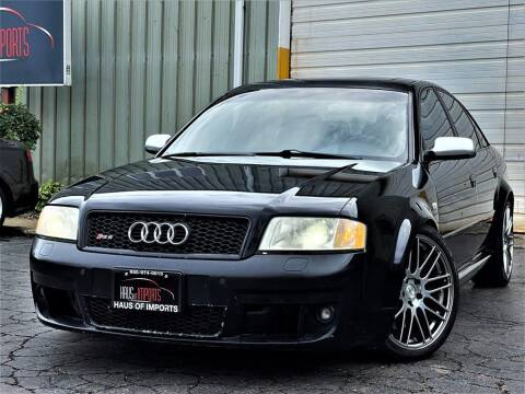 2003 Audi RS 6 for sale at Haus of Imports in Lemont IL