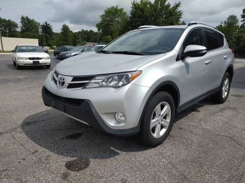 2013 Toyota RAV4 for sale at Cruisin' Auto Sales in Madison IN