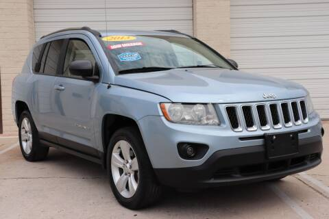 2013 Jeep Compass for sale at MG Motors in Tucson AZ