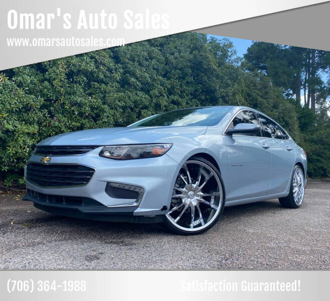 2017 Chevrolet Malibu for sale at Omar's Auto Sales in Martinez GA