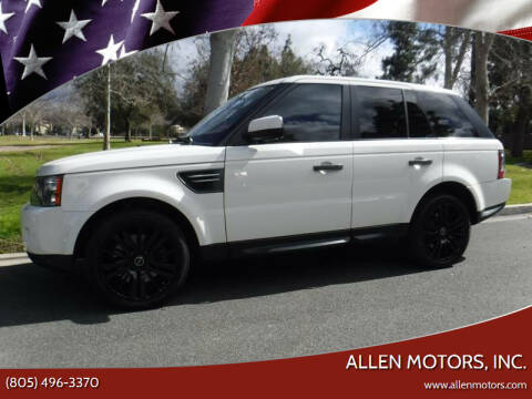 2010 Land Rover Range Rover Sport for sale at Allen Motors, Inc. in Thousand Oaks CA