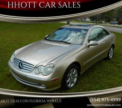 2004 Mercedes-Benz CLK for sale at HHOTT CAR SALES in Deerfield Beach FL