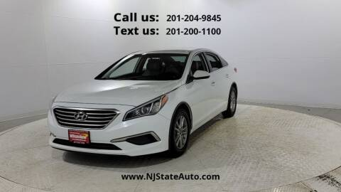 2016 Hyundai Sonata for sale at NJ State Auto Used Cars in Jersey City NJ