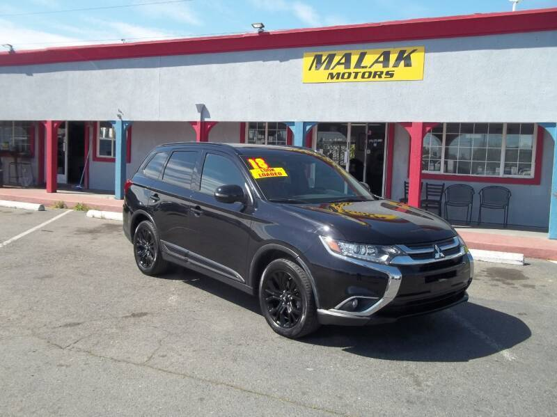 2018 Mitsubishi Outlander for sale at Atayas Motors INC #1 in Sacramento CA