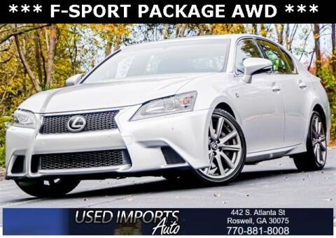 2014 Lexus GS 350 for sale at Used Imports Auto in Roswell GA