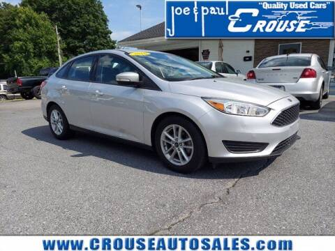 2016 Ford Focus for sale at Joe and Paul Crouse Inc. in Columbia PA