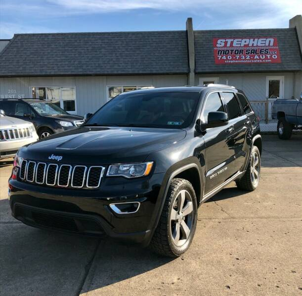 2017 Jeep Grand Cherokee for sale at Stephen Motor Sales LLC in Caldwell OH