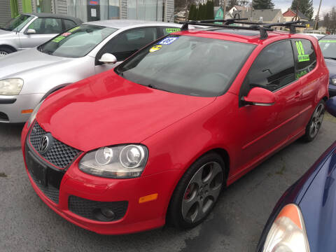 2008 Volkswagen GTI for sale at American Dream Motors in Everett WA