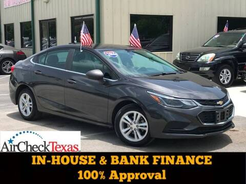 2016 Chevrolet Cruze for sale at Premium Auto Group in Humble TX
