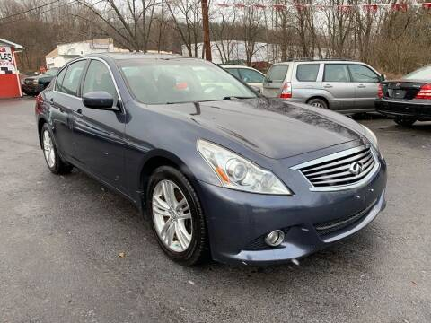 2010 Infiniti G37 Sedan for sale at GMG AUTO SALES in Scranton PA