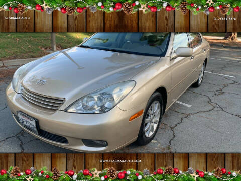 2004 Lexus ES 330 for sale at StarMax Auto in Fremont CA