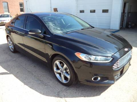 2013 Ford Fusion for sale at Apex Auto Sales in Coldwater KS