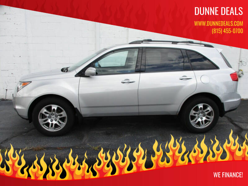 2009 Acura MDX for sale at Dunne Deals in Crystal Lake IL