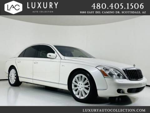 2009 Maybach 57 for sale at Luxury Auto Collection in Scottsdale AZ