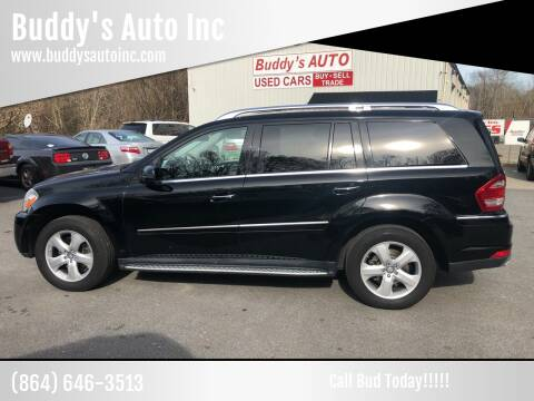 2012 Mercedes-Benz GL-Class for sale at Buddy's Auto Inc in Pendleton SC