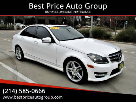 2014 Mercedes-Benz C-Class for sale at Best Price Auto Group in Mckinney TX