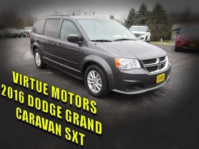 2016 Dodge Grand Caravan for sale at Virtue Motors in Darlington WI