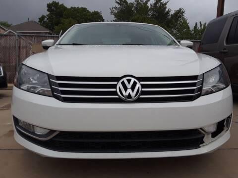 2015 Volkswagen Passat for sale at Auto Haus Imports in Grand Prairie TX