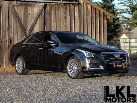 2015 Cadillac CTS for sale at LKL Motors in Puyallup WA
