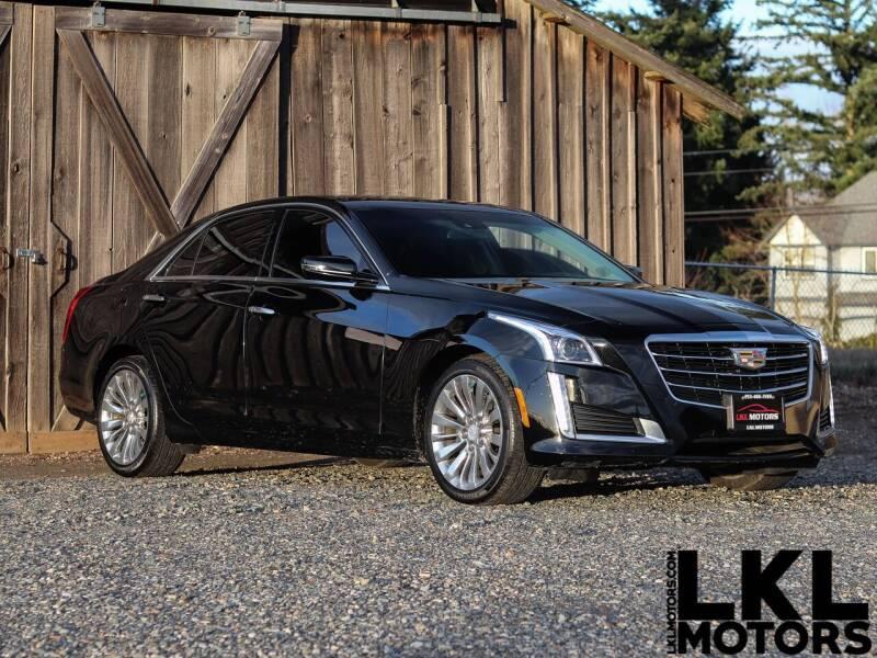 2015 Cadillac CTS for sale at LKL Motors in Puyallup WA