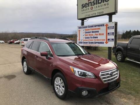 2015 Subaru Outback for sale at Sensible Sales & Leasing in Fredonia NY