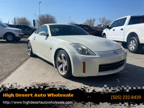 2008 Nissan 350Z for sale at High Desert Auto Wholesale in Albuquerque NM