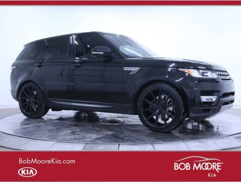 2017 Land Rover Range Rover Sport for sale at Bob Moore Kia in Oklahoma City OK