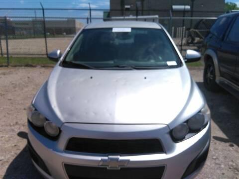 2013 Chevrolet Sonic for sale at GLOBAL MOTOR GROUP in Newark NJ