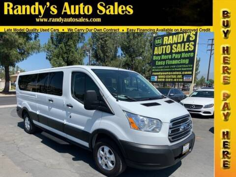 2019 Ford Transit Passenger for sale at Randy's Auto Sales in Ontario CA