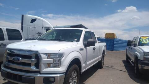 2017 Ford F-150 for sale at CAMEL MOTORS in Tucson AZ
