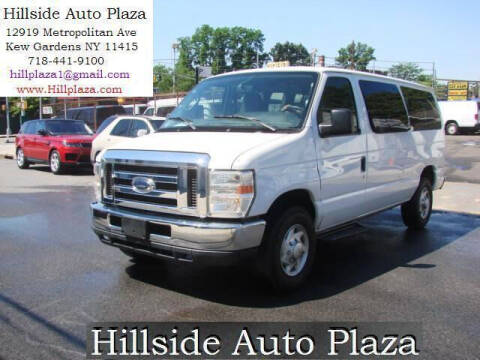 2012 Ford E-Series Wagon for sale at Hillside Auto Plaza in Kew Gardens NY