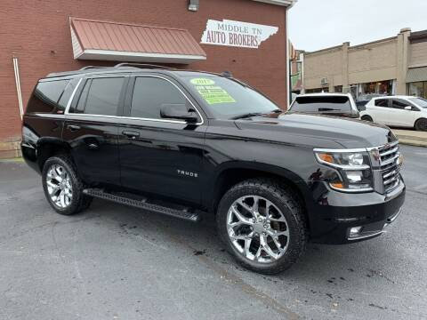 2017 Chevrolet Tahoe for sale at Middle Tennessee Auto Brokers LLC in Gallatin TN