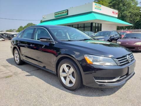 2013 Volkswagen Passat for sale at Action Auto Specialist in Norfolk VA