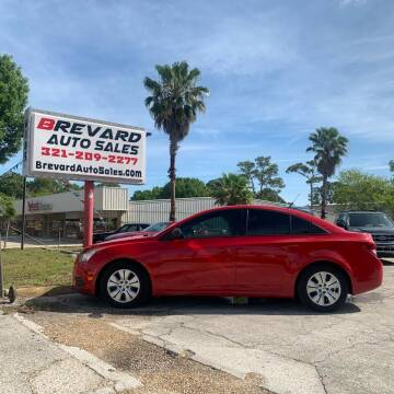 2014 Chevrolet Cruze for sale at Brevard Auto Sales in Palm Bay FL