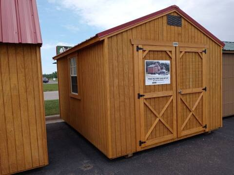 2021 Old Hickory Buildings Utility Shed 10x12 for sale at Cannon Falls Auto Sales in Cannon Falls MN
