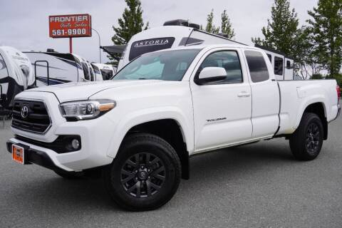 2016 Toyota Tacoma for sale at Frontier Auto & RV Sales in Anchorage AK