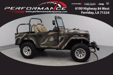 1972 Toyota Land Cruiser for sale at Auto Group South - Performance Dodge Chrysler Jeep in Ferriday LA