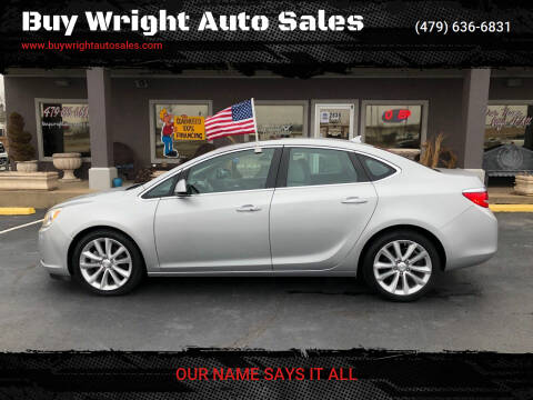 2013 Buick Verano for sale at Buy Wright Auto Sales in Rogers AR