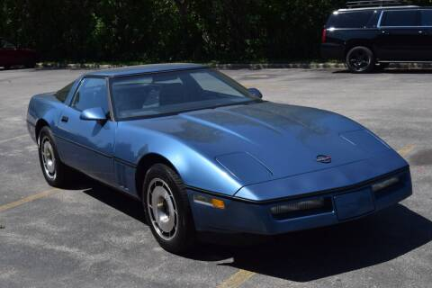 1984 Chevrolet Corvette for sale at NEW 2 YOU AUTO SALES LLC in Waukesha WI