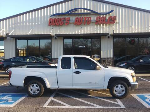 2005 GMC Canyon for sale at DOUG'S AUTO SALES INC in Pleasant View TN