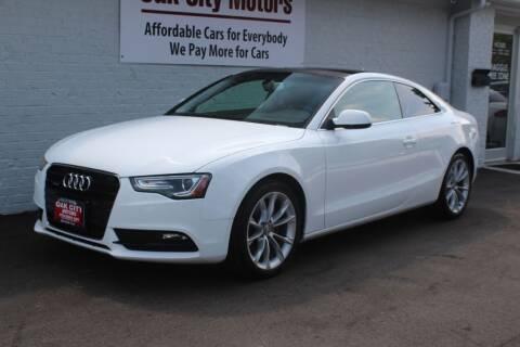 2014 Audi A5 for sale at Oak City Motors in Garner NC
