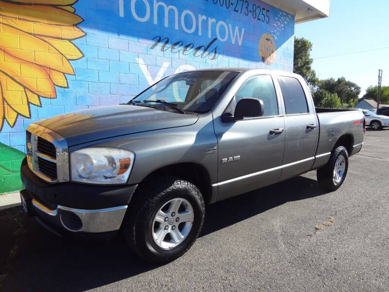2008 Dodge Ram Pickup 1500 for sale at FINISH LINE AUTO SALES in Idaho Falls ID