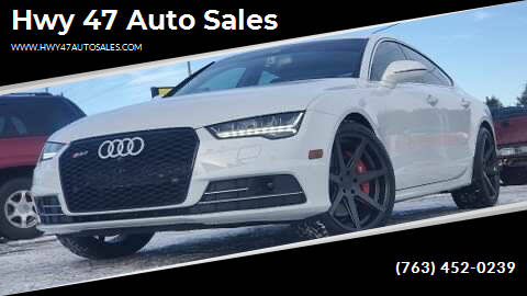 2016 Audi A7 for sale at Hwy 47 Auto Sales in Saint Francis MN