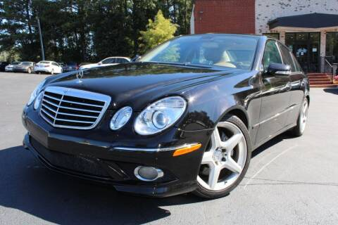 2009 Mercedes-Benz E-Class for sale at Atlanta Unique Auto Sales in Norcross GA