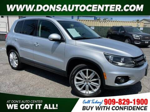 2014 Volkswagen Tiguan for sale at Dons Auto Center in Fontana CA