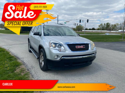 2010 GMC Acadia for sale at CARLUX in Fortville IN