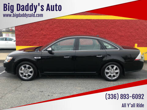 2008 Ford Taurus for sale at Big Daddy's Auto in Winston-Salem NC