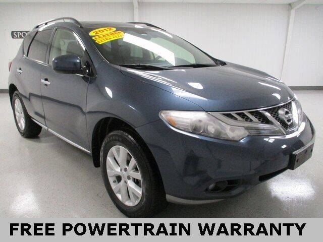 2012 Nissan Murano for sale at Sports & Luxury Auto in Blue Springs MO