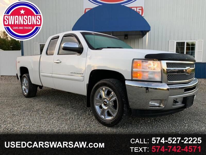 2012 Chevrolet Silverado 1500 for sale at Swanson's Cars and Trucks in Warsaw IN