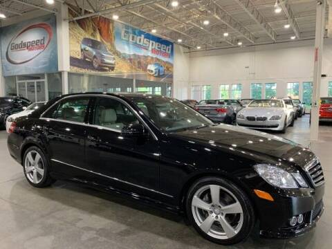 2010 Mercedes-Benz E-Class for sale at Godspeed Motors in Charlotte NC